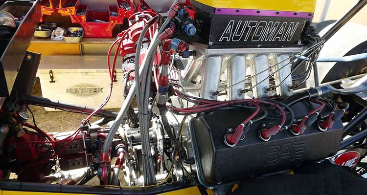A Fuel on Msd Fuel Injection System